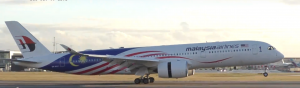 Flex Open Return Malaysia Airlines A350